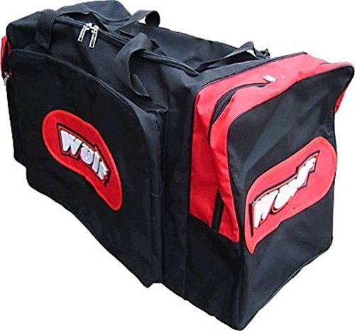 Wulf Jumbo Motocross mx motox quad enduro Kit Bag - red