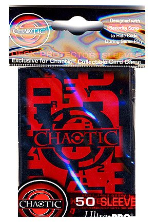 Chaotic Card Supplies Ultra Pro 50 Deck Protector Sleeves - 1