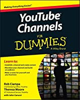YouTube Channels For Dummies Front Cover