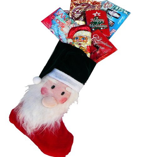Santa Claus Stocking Stuffer Holiday Christmas Gift Basket