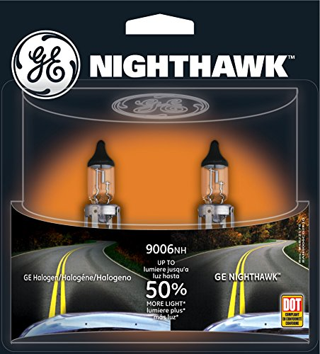 GE NIGHTHAWK 9006 Halogen Replacement Bulb, (Pack of 2) (Toyota Corolla 2003 Headlamp compare prices)