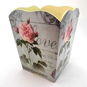 Vintage Decorative Romantic Trashcan