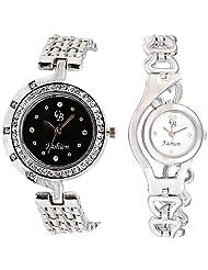 CB Fashion Combo Of Analog Multicolour Dial Women's Watch (RW114)