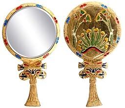 YTC SUMMIT 5949 Egyptian Floral Hand Mirror - C-16