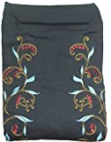 Meitai Baby Carrier Carry Baby Sling Fashinable Pattern Design (Dark Blue Flower)
