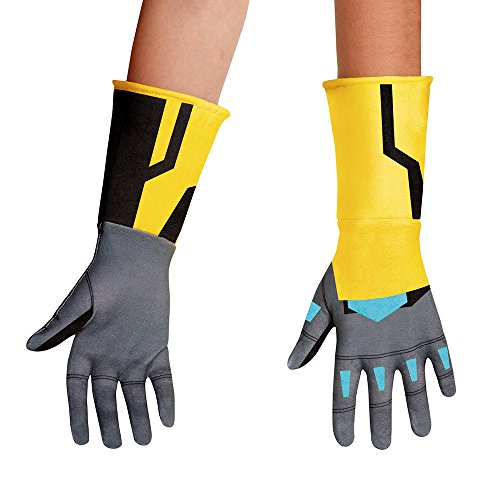 Disguise Bumblebee Animated Gloves Costume, One Size Child - 1