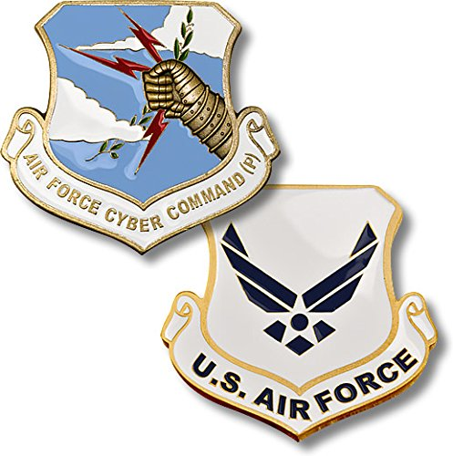 U.S. Air Force Cyber Command (P) Challenge Coin