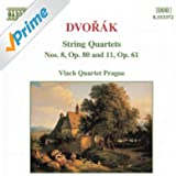 Dvorak: String Quartets No. 8, Op. 80 And No. 11, Op. 61