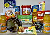 Get Well Soon / Thinking Of You Care Package Gift, Sistema Soup Mug, Crackers, Chicken Noddle Soup, Tea Plus Much More