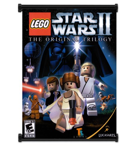Lego Star Wars Game Wall Scroll Poster