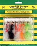 Pistol Pete Hi-Country Fishing Flies, Size 2, Salmon/Steelhead