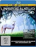 Unsere Natur 3D - Ein audiovisuelles Erlebnis der besonderen Art (3D Version inkl. 2D Version) [3D Blu-ray]