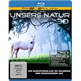 """Unsere Natur 3D - Ein audiovisuelles Erlebnis der besonderen Art (3D Version inkl. 2D Version) [3D Blu-ray]von """"KSM"""""""