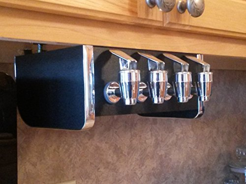 Soda Station Under Counter Home Soda Syrup Dispenser for Bag in Box BIB 4 Taps (Syrup Dispenser Station compare prices)