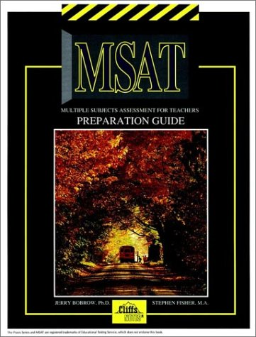 Multiple Subjects Assessment For Teachers Preparation Guide (Cliffs Test Prep) front-985783