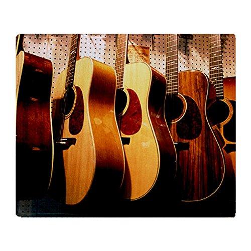 Guitar Fleece Blanket front-721086