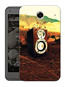 """Speakers And Music Is My Life Printed Designer Mobile Back Cover For """"Lenovo S880"""" By Humor Gang (3D, Matte Finish, Premium Quality, Protective Snap On Slim Hard Phone Case, Multi Color)"""