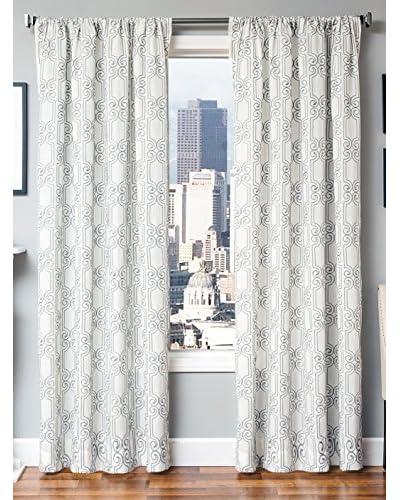 Softline Banning Grommet Top Window Panel