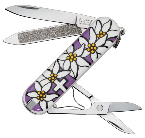 (Victorinox) VICTORINOX classic Edelweiss pattern PUR warranty comes with 0.6203.840PUR [Japan regular Edition]