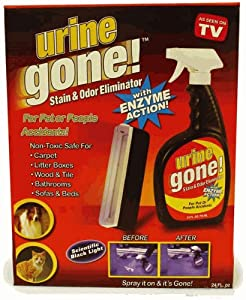 Urine gone stain remover odor eliminator for Male urine smells like fish