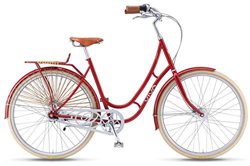 Viva-Juliett-Classic-7-City-Cruiser-Bicycle-700c-wheels-47-cm-frame-Womens-Bike-Red