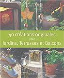 echange, troc Anne Valéry - 40 créations originales de jardin