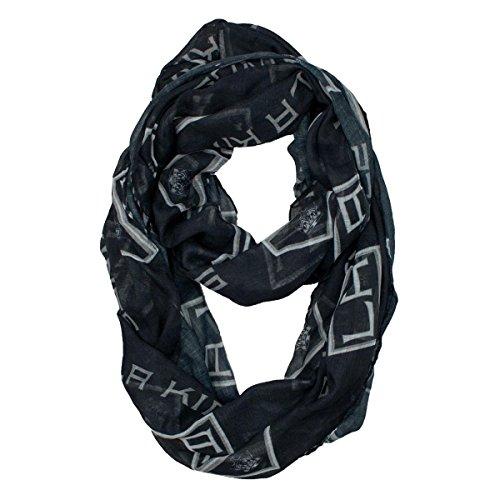 nhl-los-angeles-kings-sheer-infinity-scarf-one-size-black
