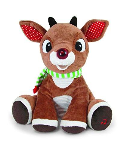 Kids Preferred Rudolph Plush Toy, Music and Lights