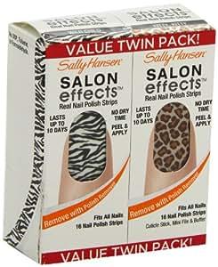 Sally Hansen Salon Effects Value Twin Pack - Wild Child / Kitty, Kitty