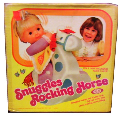 Snuggles Rocking Horse By Ideal [Doll Not Included]
