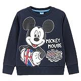 Disney ディズニー ボーイズ ミッキーマウストレーナー MH/LO305B キッズ DPブルー:120cm