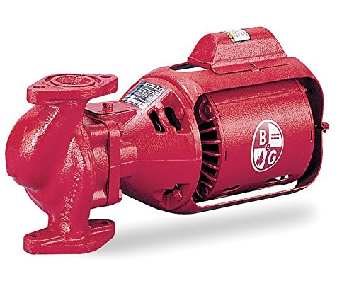 Bell & Gossett Circulating Pump Series 100 Model 100 NFI 1/12 hp 115 Volts