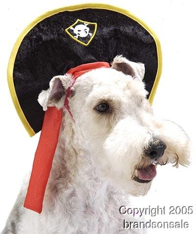 Pet Pirate Dog Costume Hat For Large Dogs