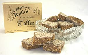 2 lb. Ruth's Fine Almond Toffee