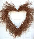 Heart Shaped Twig Door Wreath
