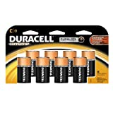 Duracell Coppertop Duralock C Batteries 8 Count