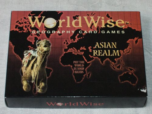 World Wise Geography Card Games: Asian Realm - 1