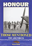 img - for Honour Those Mentioned: The Air Forces book / textbook / text book