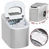 Yahee Automatischer Eiswürfelbereiter Eis Würfel Maschine ICE Eiswürfelmaschine ice crusher