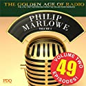 The Adventures of Philip Marlowe, Volume 2 Radio/TV Program by  PDQ Audioworks Narrated by Van Heflin, Gerald Mohr, William Conrad