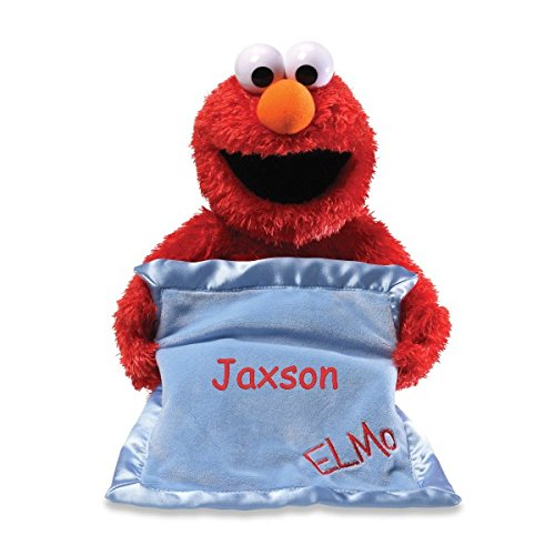 Personalized Peek A Boo Plush Toy (Peek A Boo Elmo) (Color: Peek A Boo Elmo)