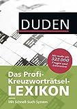 Das Profi-Kreuzworträtsel-Lexikon mit Schnell-Such-System