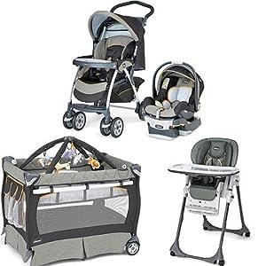 Amazon Com Chicco Sedona Kit Stroller System High Chair