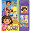 Nickelodeon Dora the Explorer: Potty Time with Big Sister Dora ( Bilingual Interactive Sound Book) (English and Spanish Edition)