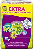 Pampers 1 paquet de 220 lingettes humides Kandoo parfum melon