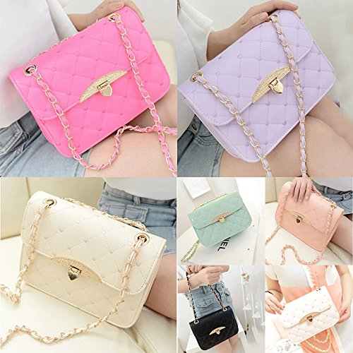 Shoulder Bag Hobo Korean Womens Pu Leather Messenger Crossbody Satchel Handbag