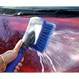 Car Wash Brush-006CB Adjustable With Hose Attachment For Quick Scratch-free Commercial & Home Washes Detachable Nozzle Easily Clean Boast Vans Bikes SUVs Trucks Greenhouses Driveways Bins Terrific For High Pressure Or Spot Free Washing