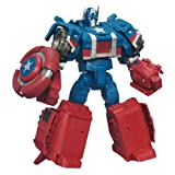 Marvel The Avengers Transformers Mech Machines Concept Series Captain America to Assault Cruiser Figure