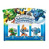 Skylanders Spyro's Adventure Triple Character Pack (Ignitor, Warnado, Camo)