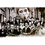 Posterhouzz Movie The Godfather HD Wallpaper Background Fine Art Paper Print Poster